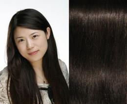 2015 de la alta calidad del 100% del pelo humano de la trama del pelo de Remy Extensión brasileña Brown más oscuro recto natural libre de la nave JFS2-2-26 desde marrón brasileño recto pelo tejido fabricantes