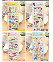 Wholesale PVC cartoon stickers sticker diary sticker South Korea stationery mixed send