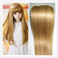 Wholesale 7pcs set Human Hair Extension Clip on Hair Remy Brazilian Clip in Hair Mix Blonde Silky Straight JFS1
