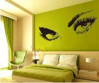 audrey modern - Audrey Hepburn s Eyes Silhouette Wall Sticker Decals Home Decor Removable WS