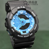 Complete Calendar Digital Rubber AUDI ots dual accustoming sports watch led watch hiking table