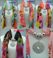 Wholesale Scarf necklace jewelry pendant BaLiSha scarf printed scarf summer beach scarf pendant scarf fedex freeshipping HJH0051