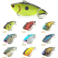 Wholesale Fishing Lure Body Lipless Trap Crankbait Hard Bait Fresh Water Deep Water Bass Walleye Crappie Minnow Fishing Tackle L540
