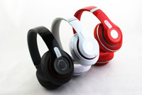 Wholesale 2013 New Headphones Hot selling Headphones Factory Price Noice Cancelling Headphone White Black Red DHL EMS Free