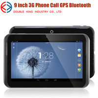 Wholesale Hot inch phablet MTK6572 G Phone call dual core gsm Tablet pc Android MB GB Wifi bluetooth GPS FM TV dual camera tablets pc