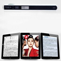 Wholesale Founder Portable Document Image Scanner Scanning Pen for iPad Mobile Office A4 DPI Handheld