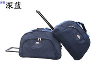 Wholesale Fashion black tie rod bags can be portable travel bag