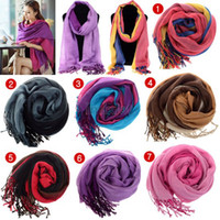 Fashion Women Ladies Girls Warm Cotton Neck Circle Scarf Sha...