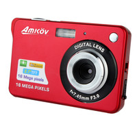 Wholesale Top Grade HD Digital Camera MP quot TFT X Zoom Smile Capture Anti shake Video Camcorder E9010