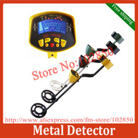 Wholesale MD II Underground Hobby Metal Detector Mine silver copper gold coin detector with large LCD display