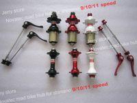 Wholesale cheap novatec hub A271SB F372SB road bike hub bike hub holes cost red black white