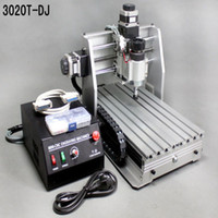 Wholesale DHL shipping mini desktop engraving machine CNC T DJ upgrade from T Router Engraver Milling Drilling Machine