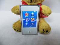 Wholesale DHL touch screen mp4 player GB internal memory fm radio e book reader th mp4 music player