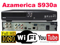 Wholesale Azamerica s930a with free sks and iks wifi for nagra Azamerica s930