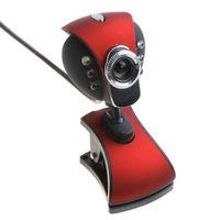 Wholesale New USB M LED Webcam Camera WebCam With Mic for Desktop PC Laptop