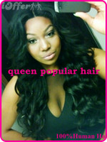 Wholesale High Quality Brazilian virgin Human hair Full lace wig glueless Front Lace wig with baby hair for african americans