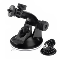 Wholesale HOT Suction Cup Mount For Go Pro Camera Accessories HD HERO Tripod Adapter Screw Nut