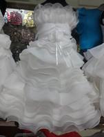 beautiful photos cute babies - Flower Girls baby White princess dress girls dress kids flower cute formal dress beautiful wedding party dress children baby girls dress