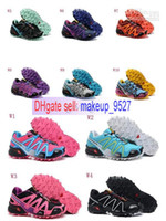 Free shipping Salomon Running shoes Women Sport Running Shoe...