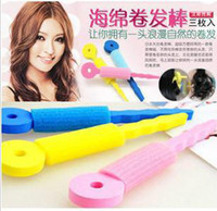 Wholesale Sponge curling iron sleeping beauty sponge hair hair curler
