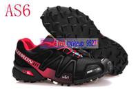 Salomon men running shoes outdoor shoes ultralight sport air...