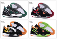 Wholesale 56 Different Colors Model New Hot Sale Retro IV Men s Basketball Sport Footwear Sneakers Trainers Shoes Colours