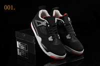 Low Cut pvc leather - 2 Colors With Box Air Retro IV Men s Basketball Sport Footwear Sneakers Shoes Size Colours