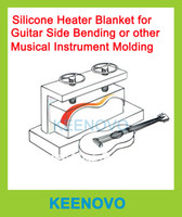 Wholesale Package Sale Guitar Musical Instrument Bending Machine Mould Mold Thermal Blanket Flexible Silicone Heaters amp mm