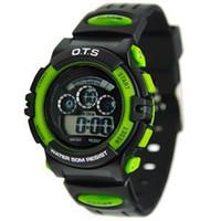 Unisex Digital Rubber O.t.s AUDI led child boy child waterproof electronic watch