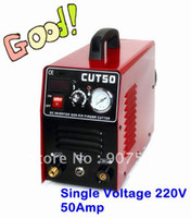 Yes 10-50Amps 110V/220V 50 Amp plasma cutting machine Air Plasma Cutter CUT50 110 220V with Free Accessories Free Shipping