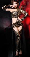 Stage clothing dancing wear fashion Asymmetric sensual tempt...