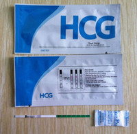 Wholesale One Step Test CE certified HCG mm pregnancy test strip with