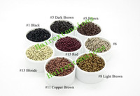 Wholesale 1000pcs mm Diameter Micro Nano Rings Links Beads For Nano Rings Hair Extensions Hair Extension Tools Color Avialable