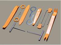 Wholesale 12pcs set Car Radio Stereo Panel Trim Removal Tool Set Kit