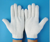 Wholesale Send free fedex thread cotton gloves labor insurance gloves gloves work gloves gloves high quality goods for export