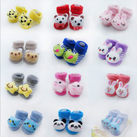 Unisex baby doll shoes - 10 off Infant shoes and socks with thick towel stereo socks baby terry socks socks toy doll socks baby shoes baby wear pairs J