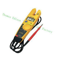 Digital Only T5-600  FLUKE T5-600 Clamp Meter Fluke T5 Electrical tester with Current, Check Voltage, Continuity and Current 600V 1000V AC