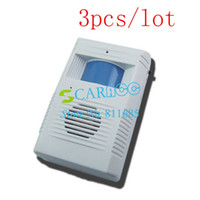 Wholesale 3PCS Light Control IR DoorBell Entry Door Bell Chime Motion Sensor Wireless Alarm