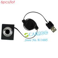 Wholesale 6pcs Newest Retractable Mini USB cm Web Camera Clip WebCam for Laptop