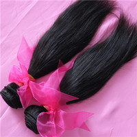 Straight Brazilian Hair 100% Brazilian human hair LQ2 Free shipping 3 or 4pcs lot Unprocessed Brazilian virgin hair Natural Straight, 5A grade 100% human hair, can be dyed and bleached