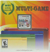 Wholesale Up to ds version GB cheap video multi games Card with different games in one Mario for DS Si XL