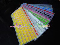 Wholesale French Language waterproof Keyboard Protective Cover Clear Elastic Silicone Rubber For Macbook Pro Air Laptop Notebook
