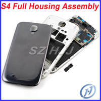 For Galaxy S4 Original Full Back Housing Assembly with Back ...