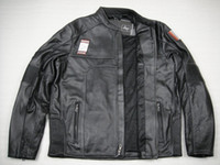 Wholesale New man s Regulator Perforated genuine Leather Jacket VM motorcycle jacket