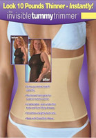 Wholesale 500pcs Waist Cincher Invisible Tummy Trimmer Slimming belt OPP bag