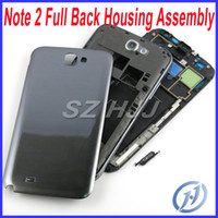 Galaxy Note 2 1 Original Full Housing Assembly with Back Hou...