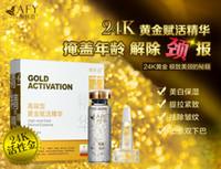 Cheap AFY Gold Activation High-end Gold Revive Essence 24K Recovery Neck Serum Neck Essence Rejuvenating Neck & Decollete Treatment Moisturing