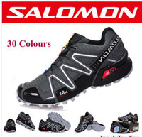 Wholesale 2013 New Salomon Shoes Men Athletic Running shoes Hiking Shoes tenis designer Zapatillas Hombres de correr Shoes