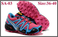 Wholesale 2013 Cheap BestSalomon speedcross men Athletic Running shoes Hiking Shoes tenis designer Zapatillas Hombres de correr Shoes Women Sneakers