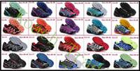 Wholesale 2013 Cheap Best New Salomon Shoes Men Athletic Running shoes Hiking Shoes tenis designer Zapatillas Hombres de correr Shoes